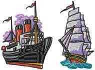 All Aboard Embroidery Machine Designs