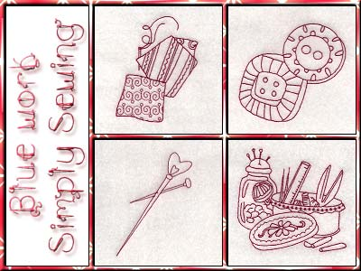Bluework Simply Sewing Embroidery Machine Designs