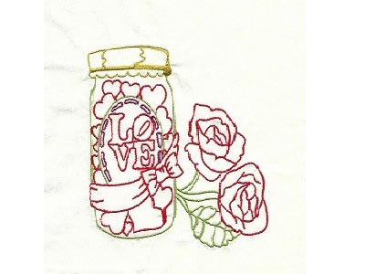 Colorline Valentine Embroidery Machine Designs
