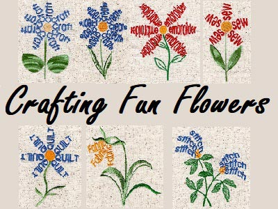 Crafting Fun Flowers Embroidery Machine Designs