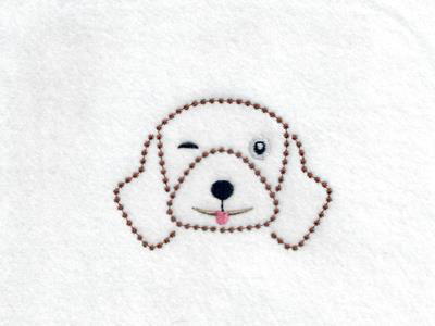 Candlewick Dog Expressions Embroidery Machine Designs