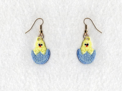 FSL Easter Earrings Embroidery Machine Designs