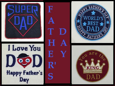 Fathers Day Embroidery Machine Designs