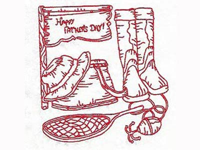 Fathers Day Blocks Embroidery Machine Designs