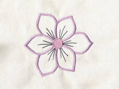 embroidery machine designs flower power outlines set. Black Bedroom Furniture Sets. Home Design Ideas