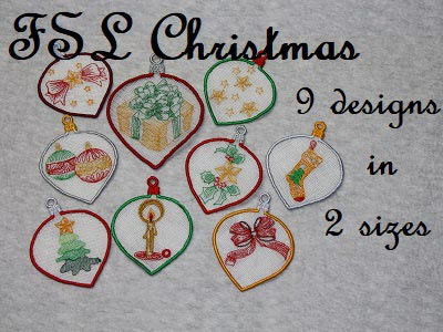 FSL Christmas Embroidery Machine Designs