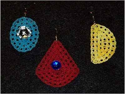 FSL Fun Loopy Earrings Embroidery Machine Designs
