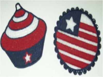 FSL July 4th Embroidery Machine Designs