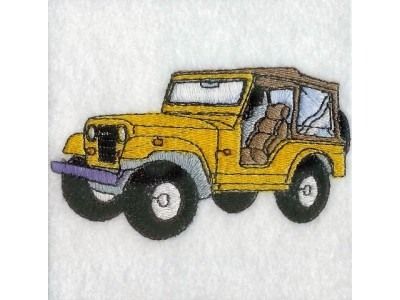 Jeeps Embroidery Machine Designs