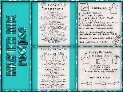 Master Mix Recipes Embroidery Machine Designs