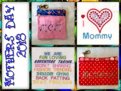 Mothers Day 2018 Embroidery Machine Designs