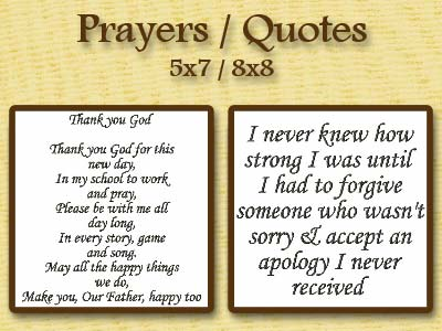 Prayers and Quotes Embroidery Machine Designs