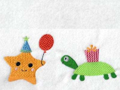 Sea Party Embroidery Machine Designs