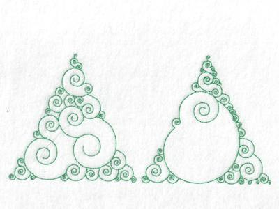 Swirly Tree Designs Embroidery Machine Designs