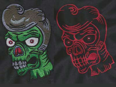Zombies Embroidery Machine Designs