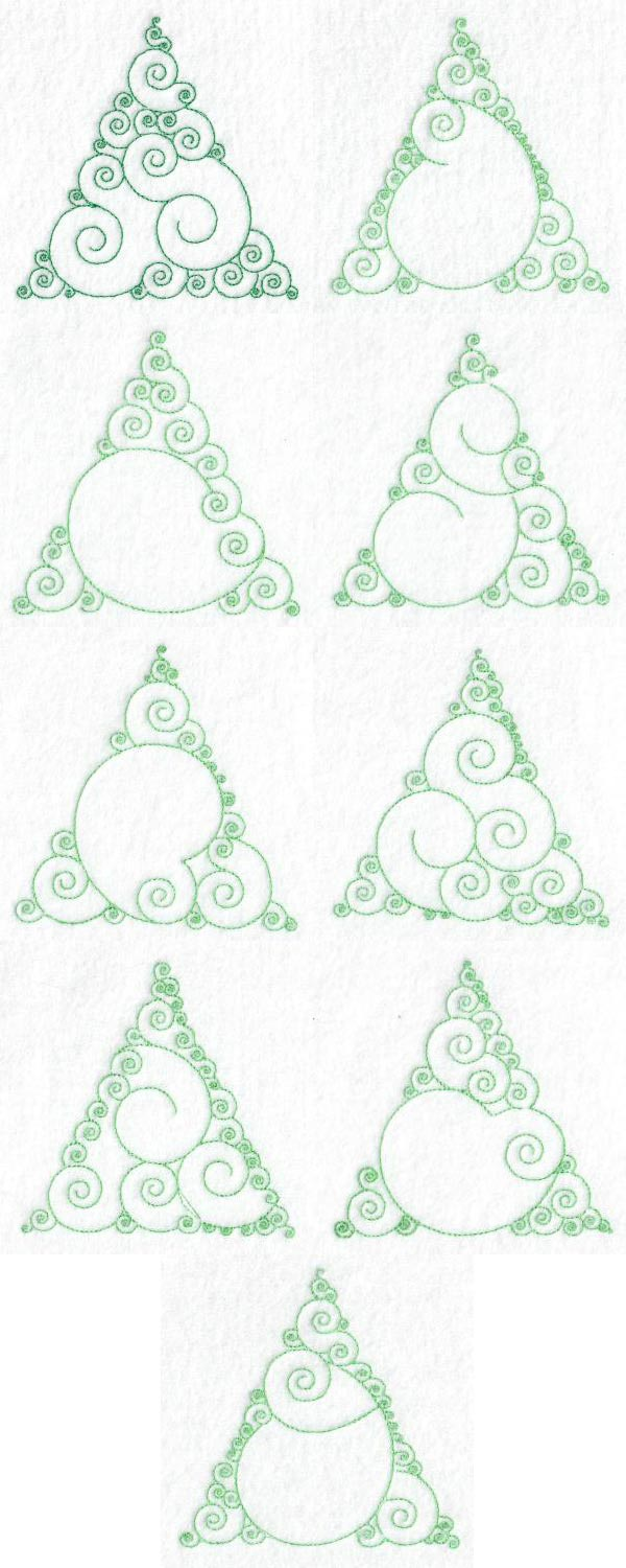 Swirly Tree Designs Embroidery Machine Design Details